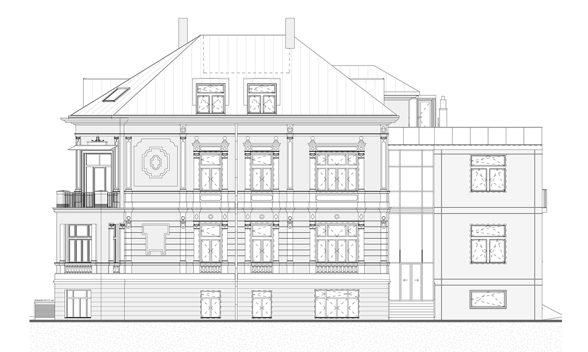 Реконструкция, Архитектура, Клиника, Виена, Австрия