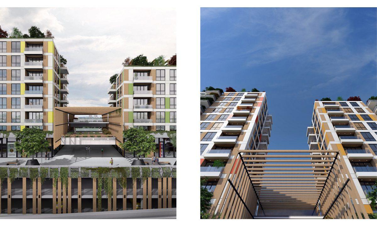 Многофункционална сграда , Апартаменти , Ню Йорк, САЩ , Архитектура
