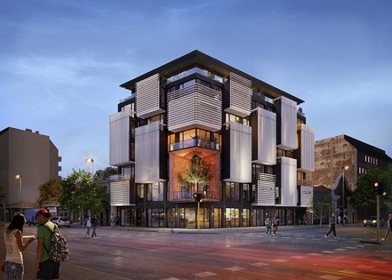 Многофамилна жилищна сграда , Офис сграда, Търговска сграда, Апартаменти , София , Архитектура