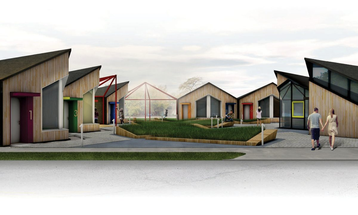Модулни къщи, Архитектура, Чикаго, САЩ